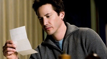 A history of rejection … Keanu Reeves, here in The Lake House (2006). Photograph: Allstar Picture Library