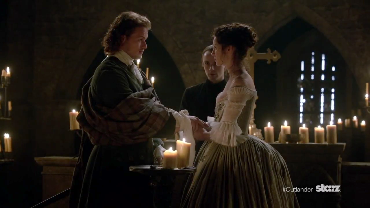 Outlander' SPOILERS: Sam Heughan DISHES Claire And Jamie's