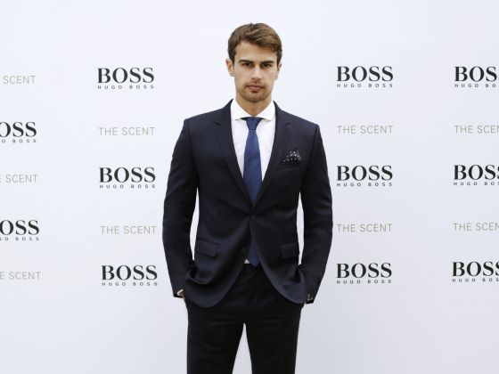 807391a2 Theo Tuesday: Theo James Unveils New Hugo Boss Fragrance 'The Scent ...