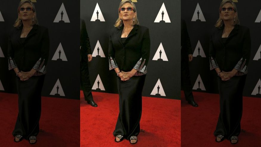 Carrie Fisher pressured to lose weight for Star Wars: The ...