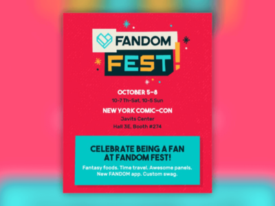 FANDOM Fest NYCC