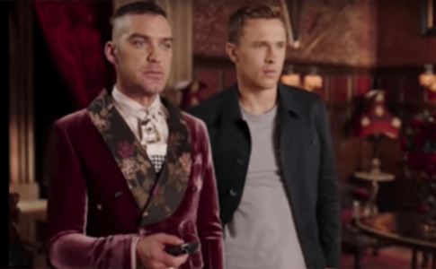 New Clip From E!'s The Royals--Jake Maskall--William Moseley