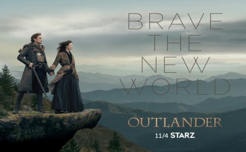 Outlander Season Four--Caitriona Balfe--Sam Heughan