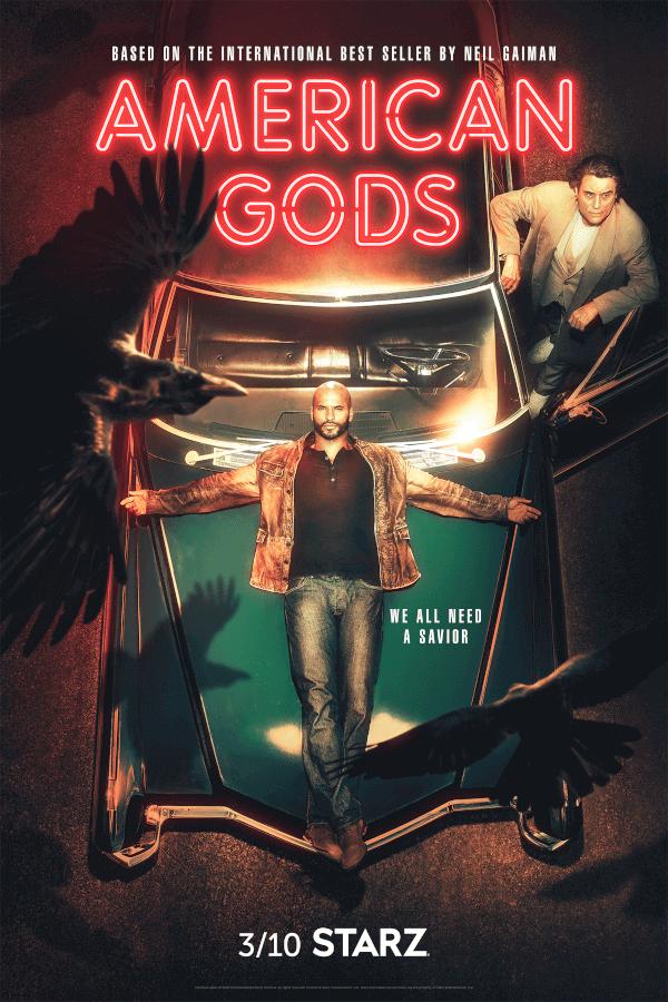 American Gods Season 2--Ricky Whittle--Ian McShane