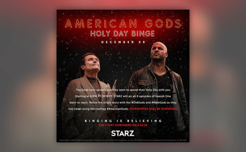 American Gods Season One--Ian McShane--Ricky Whittle--1000x600