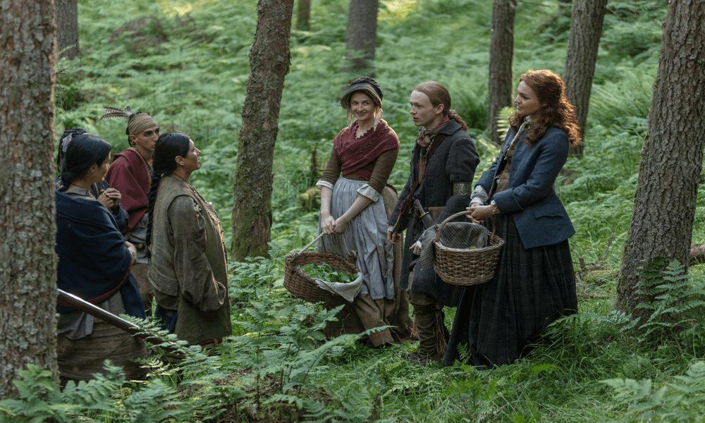 Outlander - Episode 10 - The Deep Heart's Core--Caitlin O'Ryan--John Bell--Sophie Skelton--1000x600