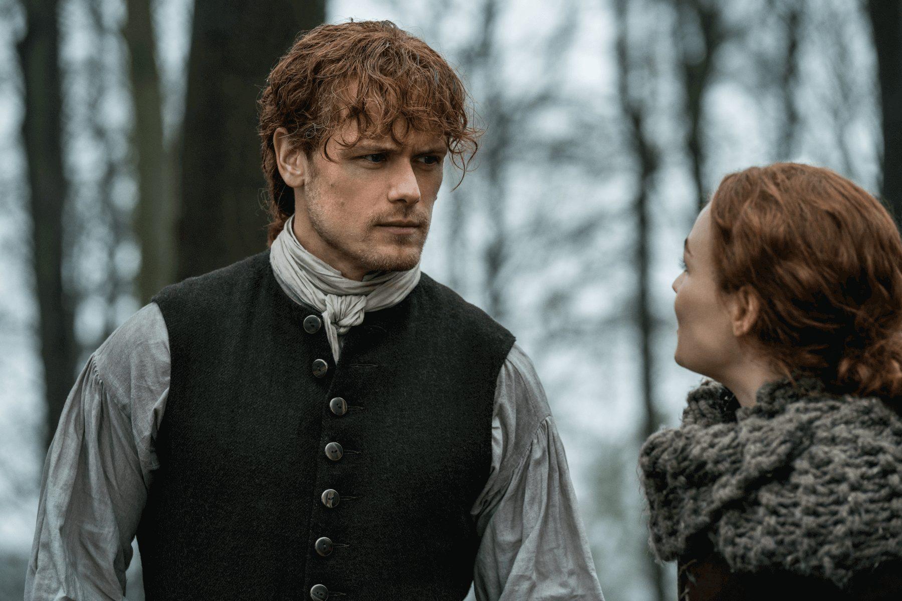 Outlander - Episode 10 - The Deep Heart's Core--Sam Heughan--Sophie Skelton