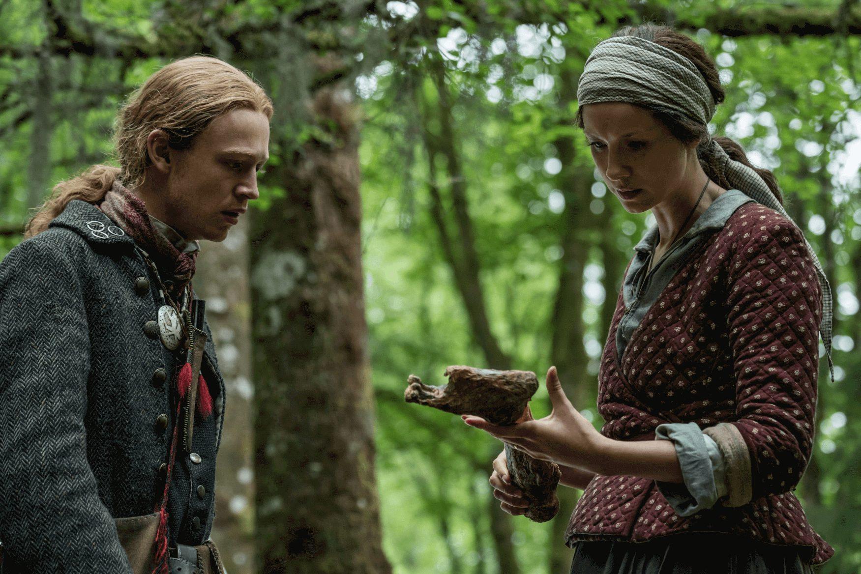 Outlander--Episode 11--If Not For Hope--John Bell--Caitriona Balfe