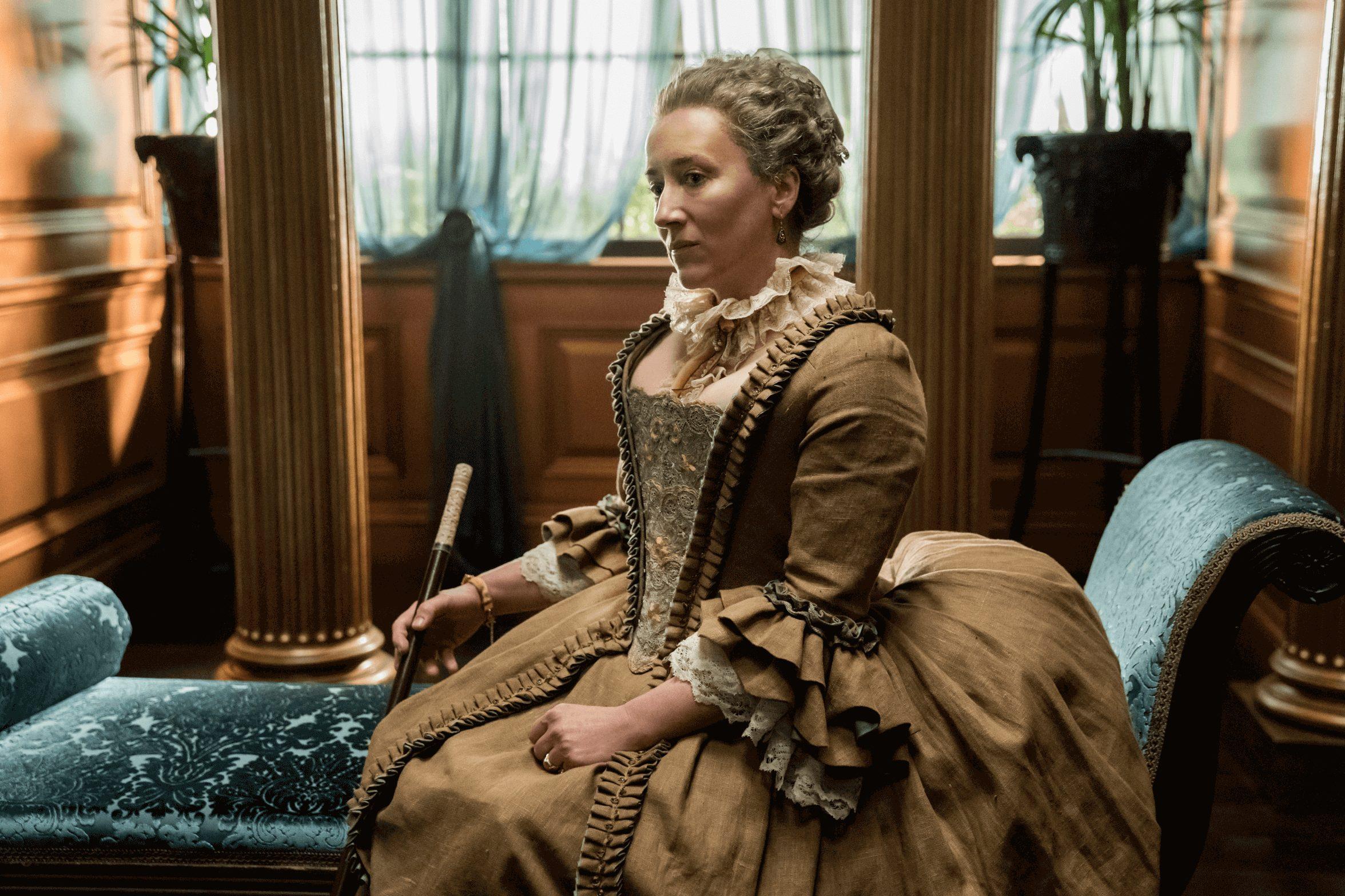 Outlander--Episode 11--If Not For Hope--Maria Doyle Kennedy (Aunt Jocasta)