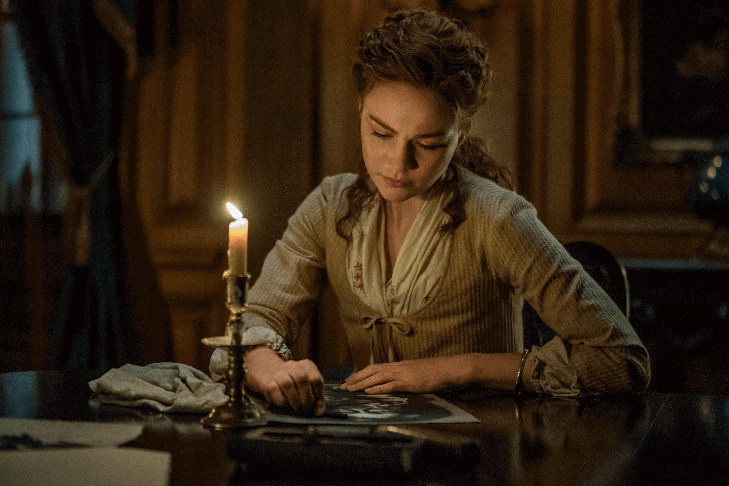Outlander--Episode 11--If Not For Hope--Sophie Skelton (Brianna Fraser)