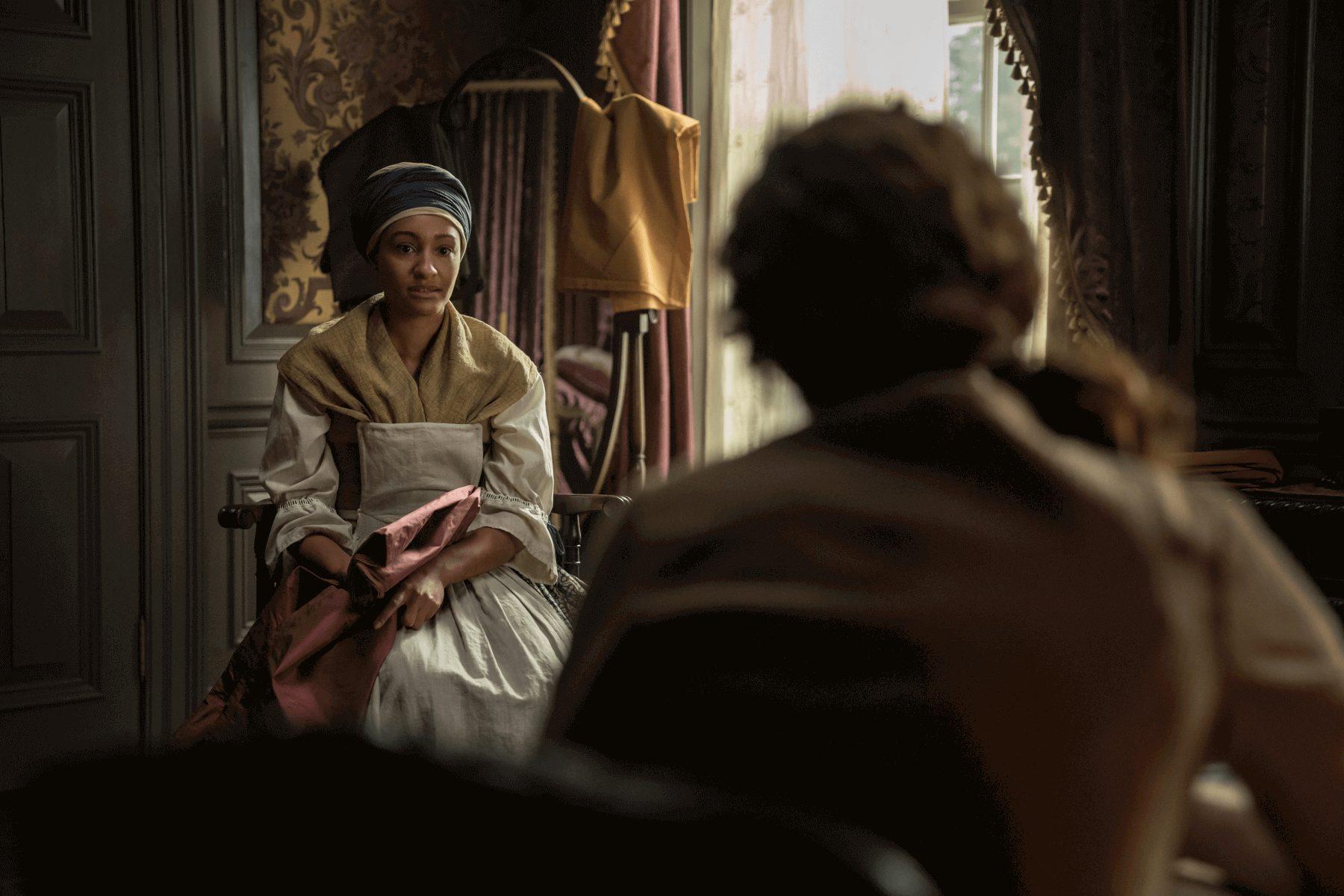 Outlander--Episode 11--If Not For Hope--Sophie Skelton--Natalie Simpson
