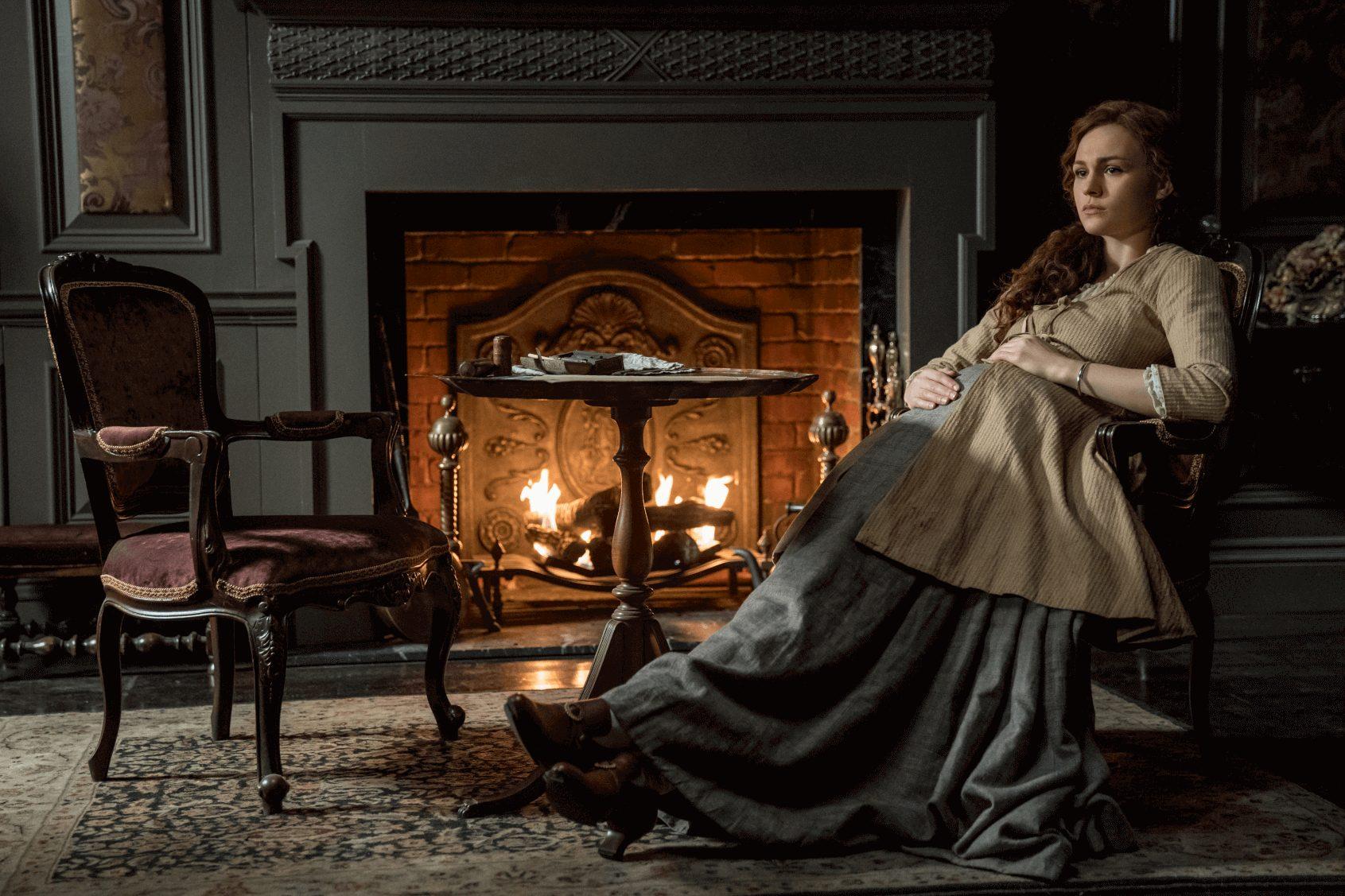 Outlander--Episode 11--If Not For Hope--Sophie Skelton